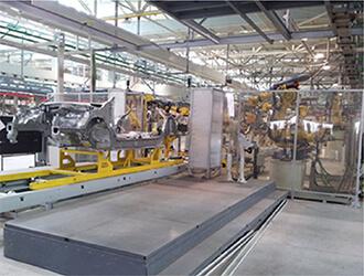 汽车装备开发与制造、生产线集成